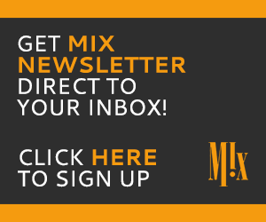 Get The Mix Newsletter direct to your inbox