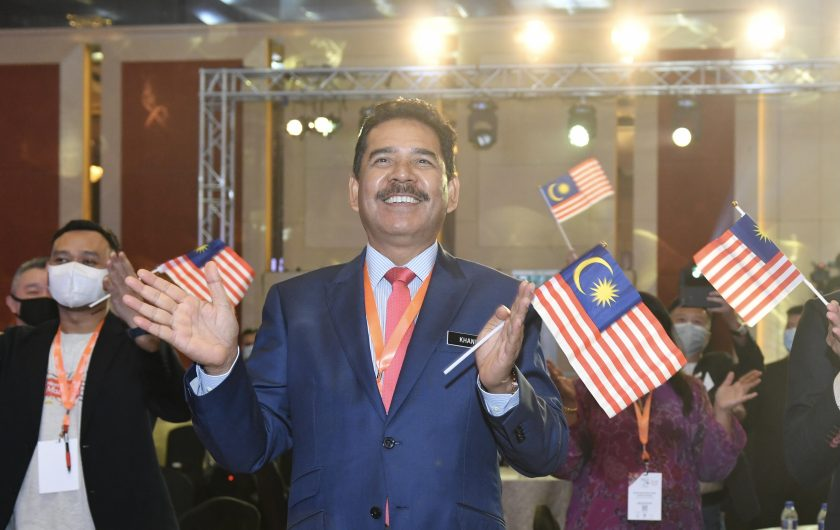 Abdul Khani Daud, the CEO of Malaysia Convention & Exhibition Bureau (MyCEB)
