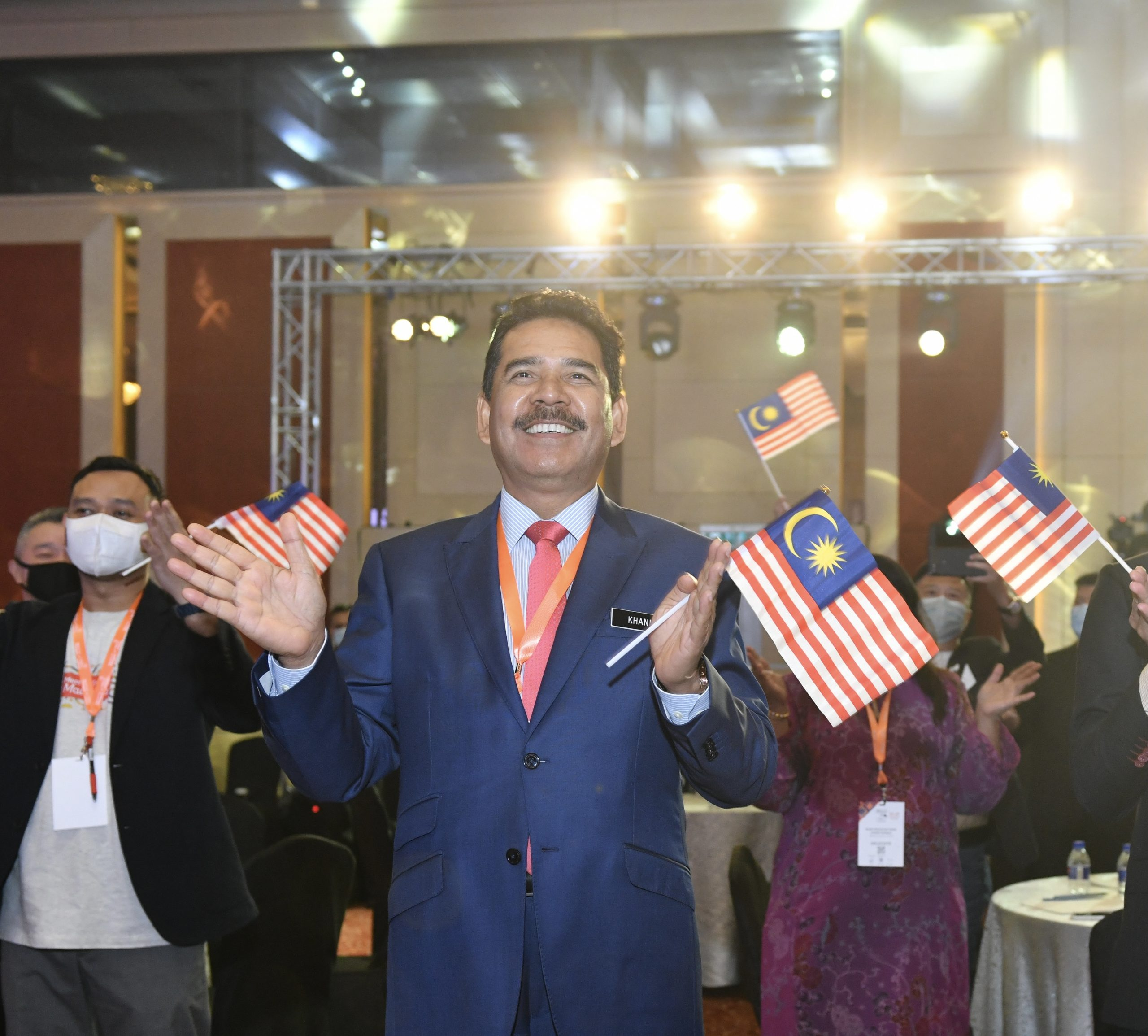 Abdul Khani Daud, the CEO of Malaysia Convention & Exhibition Bureau (MyCEB)